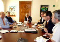Revisan con alto comisionado de la ONU tema de desaparecidos