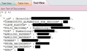 Los datos personales de millones de electores mexicanos fueron filtrados en la web