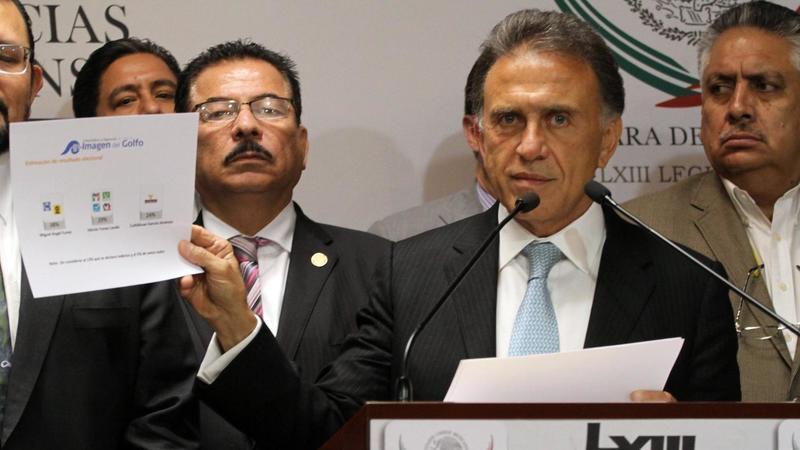 Yunes Linares, acusado de poseer 133 mdp en propiedades