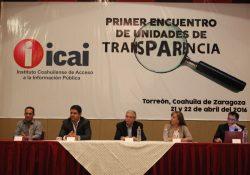 Inicia Primer Encuentro de Unidades de Transparencia