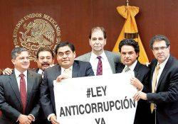 Ley anticorrupción está a contrarreloj; estira y afloja en el Senado