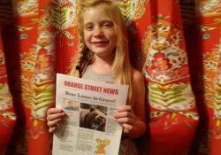La reportera de 9 años que cubrió un asesinato y publicó la nota antes que los diarios locales