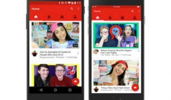 YouTube se reinventa en su versión móvil