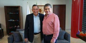 Se reúne Isidro con alcalde de Torreón