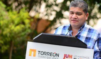 Continúa pavimentación en Torreón