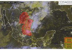 Continúa pronóstico de lluvias intensas y tormentas eléctricas para Coahuila