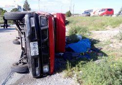 Choca vehículo contra patrulla de Fuerza Coahuila, muere menor de edad