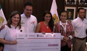 Asociaciones civiles de Coahuila reciben apoyos por 3 mdp