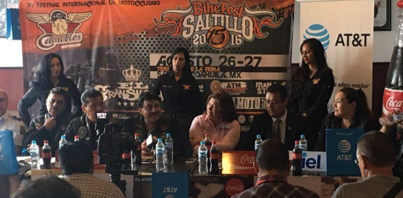 XV Festival Internacional de Motociclismo Saltillo 2016