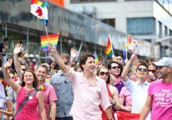 Histórica aparición de Trudeau en marcha del Orgullo Gay en Toronto