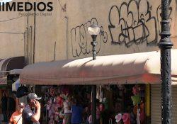 Graffiti amenaza la imagen del Centro Histórico de Saltillo