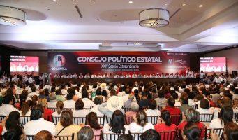 Acuerda PRI Coahuila coalición con otros seis partidos