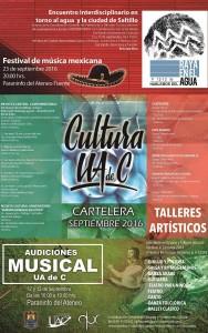 Cartelera Cultural Septiembre