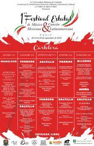 Cartelera Festival