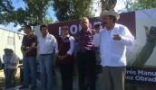Comienza gira de AMLO y Armando Guadiana por Coahuila