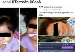 Rescata Pronnif a menor de 9 meses amordazada en Torreón