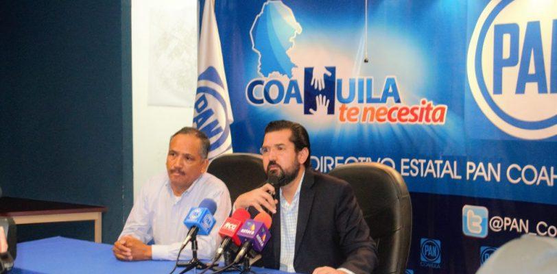 """""""Los que ya no merecen gobernar Coahuila son los autores de la megadeuda"""": PAN"""