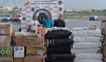 Aseguran en Coahuila 2 toneladas de pirotecnia procedentes de Tultepec