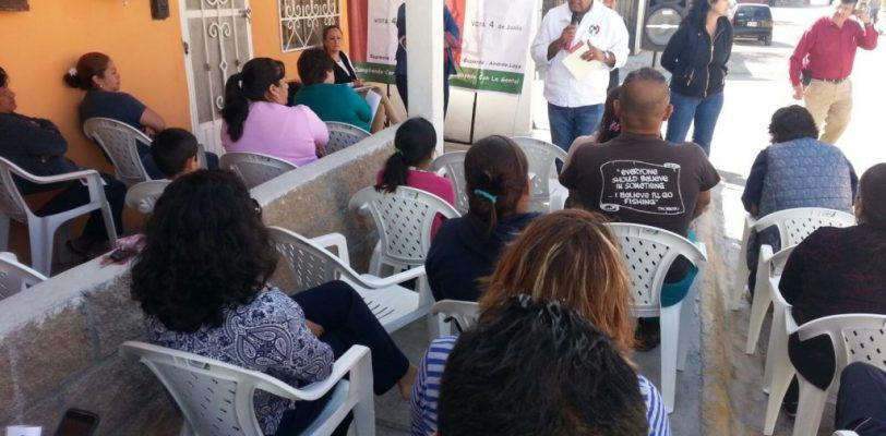 Junto con Manolo mejoraremos los servicios primarios de la ciudad: Samuel