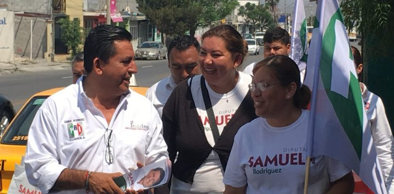 Recorre Samuel Rodríguez colonia las Teresitas