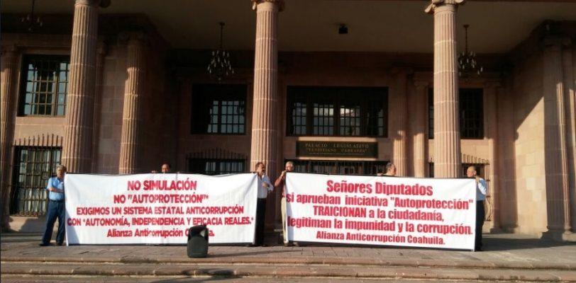 Por mayoría, aprueban diputados Ley Anticorrupción en Coahuila