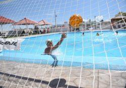 Hay waterpolo en Centros Acuáticos DIF Saltillo