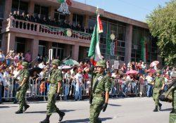 Todo listo para el desfile revolucionario