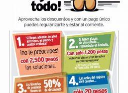 Anuncia gobierno de Miguel Ángel Riquelme programa de estímulos fiscales para diciembre