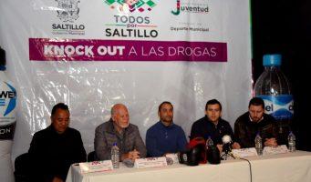 """Gobierno de Saltillo convoca a participar en el programa """"Knock Out a las drogas"""""""