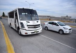 Cuenta Saltillo con nueva ruta de transporte urbano en Colosio