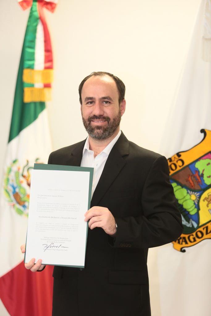 Ratifican a Inocencio Aguirrre como Secretario de Inclusión y Desarrollo Social