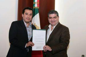 Entrega nombramientos Miguel Ángel Riquelme Solís
