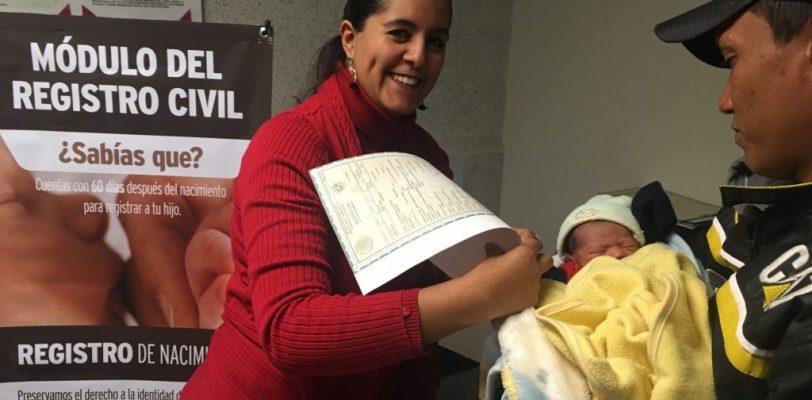 Registro gratuito e inmediato de bebés en los hospitales de Coahuila