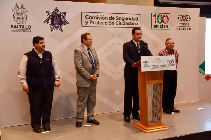 Presentan la Comisión de Seguridad y Protección Ciudadana