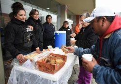 Realiza Comisión de Seguridad y Protección Ciudadana recorridos en apoyo a personas vulnerables por frente frío 23