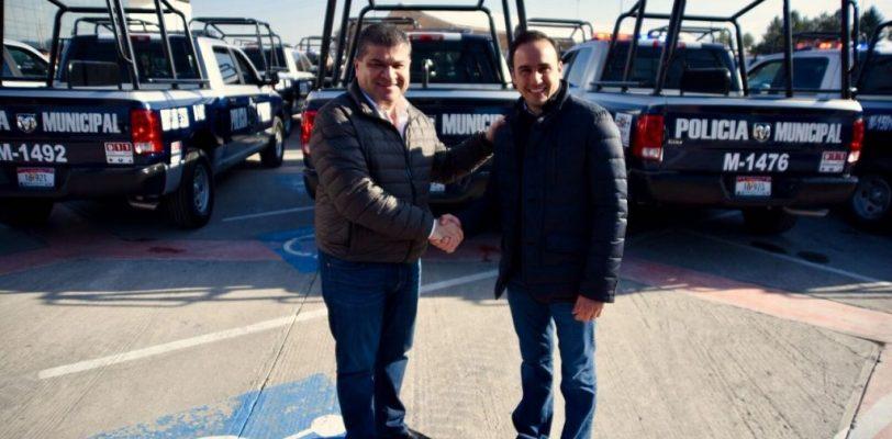 Recibe Saltillo 40 nuevas patrullas para reforzar seguridad de la ciudadanía