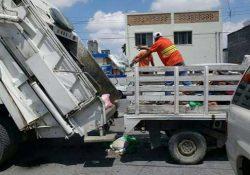 Por seguridad, suspendido el servicio de recolección de basura