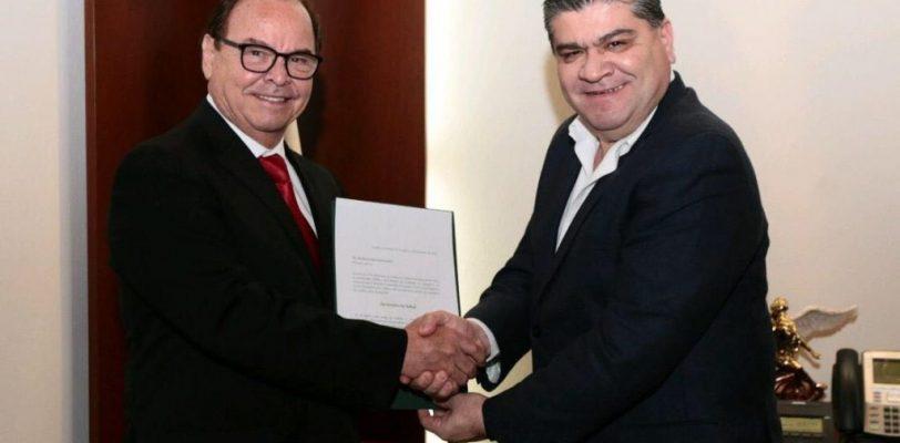 Recibe Roberto Bernal nombramiento como Secretario de Salud