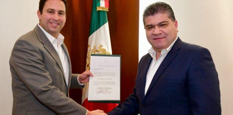 Asume Javier Díaz la Administración Fiscal General