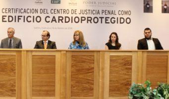Capacita Comisión de Seguridad a personal del Centro de Justicia Penal en primeros auxilios