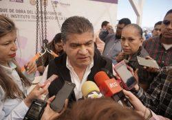 Gobernador Muiguel Riquelme buscará recursos para construcción de un C5 en Coahuila