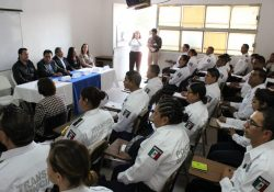 Inician Comisión de Seguridad y Fiscalía capacitación de policía Saltillo