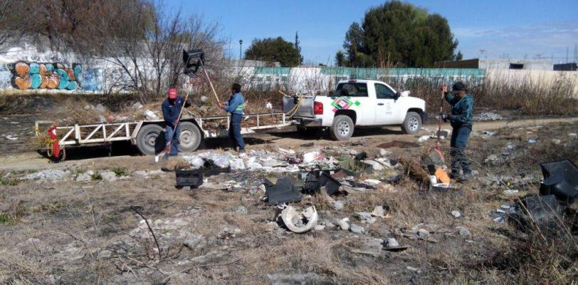Intensifica Gobierno de Saltillo jornadas de limpieza en arroyos