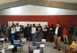 """Padres de familia realizan operativo """"Mochila Limpia y Segura"""" con saldo blanco en Ciudad Acuña"""
