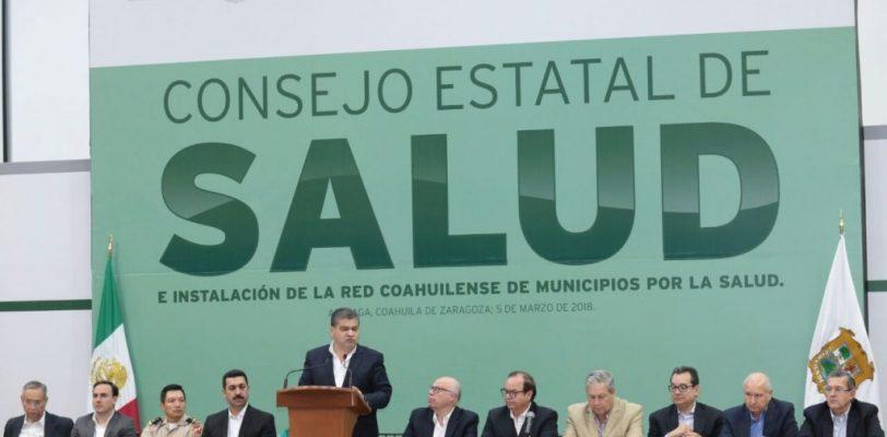 A nivel Nacional Coahuila se distingue en el campo de la salud: Narro Robles