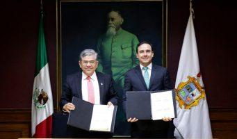 Firman Municipio de Saltillo y Universidad Autónoma de Coahuila convenio de colaboración