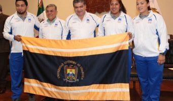 Abandera Miguel Riquelme a delegación de la UADEC