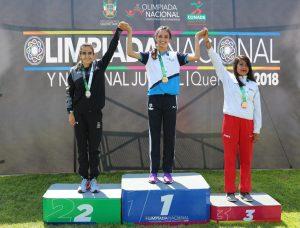 Destaca saltillense en Olimpiada Nacional de Atletismo
