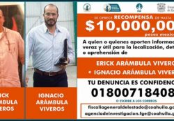 Ofrecen millonaria recompensa por asesinos de Purón