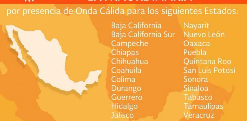 Declara SEGOB emergencia extraordinaria para 20 municipios de Coahuila